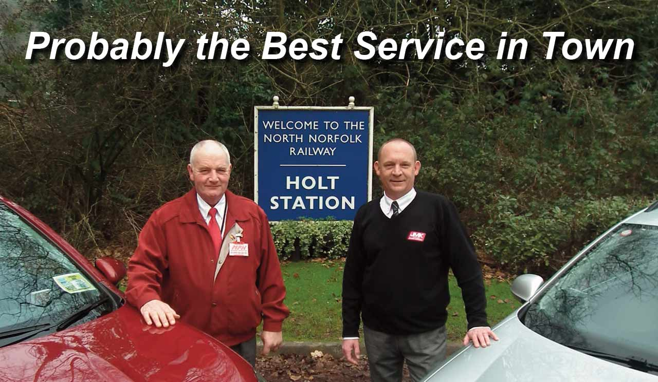 Holt Taxi Service Norfolk